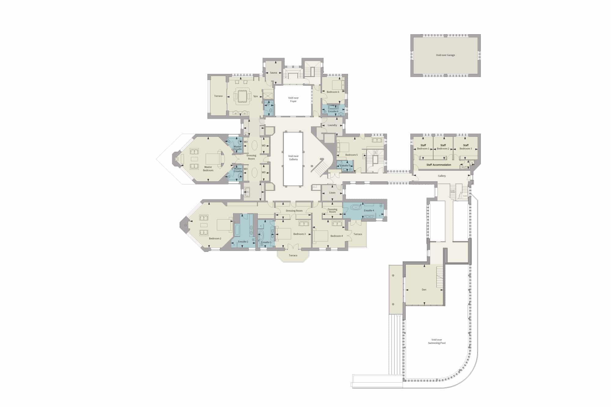 Harford Manor First Floor Floorplan