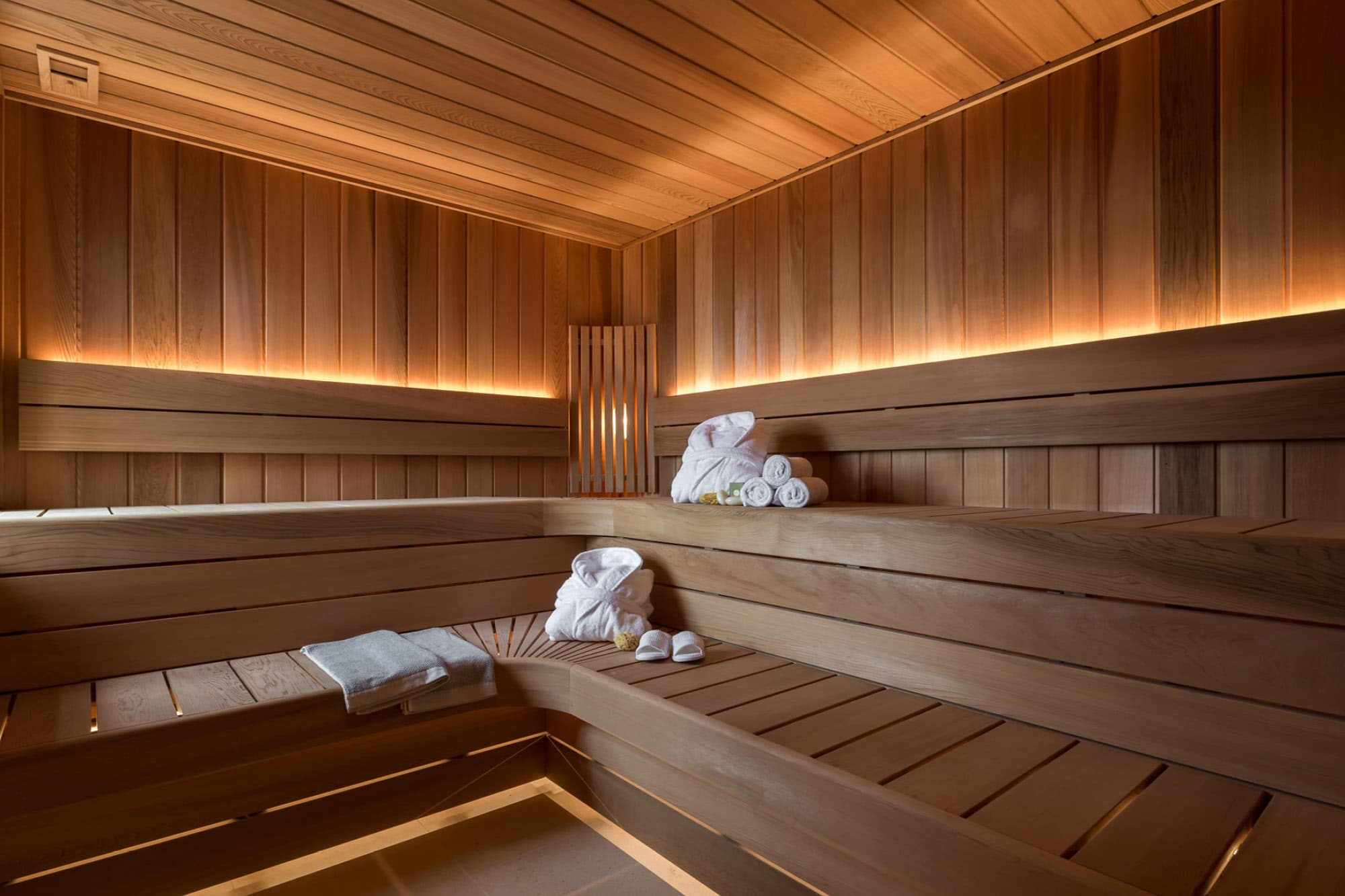 The Swedish sauna at Harford Manor